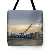 Boardwalk Waterpark Wildwood New Jersey Tote Bag