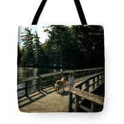 Boardwalking Tote Bag