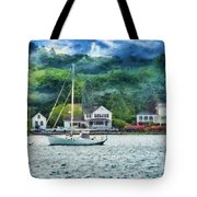 Boat - A Good Day To Sail Tote Bag