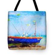 Boat Ashore Tote Bag