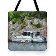 Boat Break Tote Bag