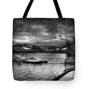Boat Dock At Sperry Chalet 2 Tote Bag