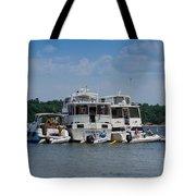 Boating Buddies Tote Bag