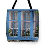 Boat House Windows Tote Bag