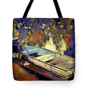 Boat Number 12 Tote Bag