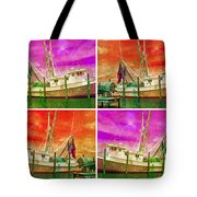 Boat Of A Different Color Tote Bag