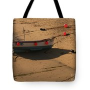 Boat On Beach 04 Tote Bag by Pixel Chimp