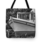 Boat Out Of The Water Tote Bag