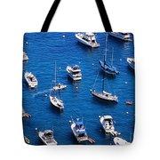 Boat Parking Tote Bag