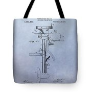 Boat Propeller Patent Drawing 1911 Tote Bag