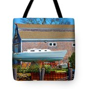 Boat Repair Shop Number Two Tote Bag