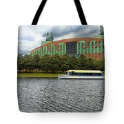 Boat Ride Past The Swan Resort Walt Disney World Tote Bag