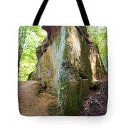 Boat-shaped Rock Wildcat Den State Park Tote Bag