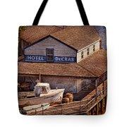 Boat - Tuckerton Seaport - Hotel Decrab  Tote Bag