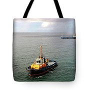 Boat - Tugboat Barbados II Tote Bag