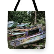 Boat Yard Tote Bag by Heather Applegate