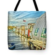 Boathouse Alley Tote Bag