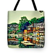Boathouse Color Tote Bag
