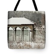 Boathouse Pavilion Tote Bag