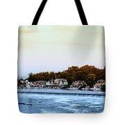 Boathouse Row And Farmount Dam Tote Bag