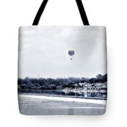 Boathouse Row And The Zoo Balloon Tote Bag