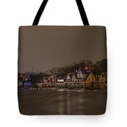 Boathouse Row In The Evening Tote Bag