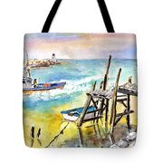 Boats And Boardwalks By Brittany 01 Tote Bag