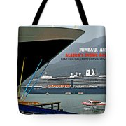 Boats And Plane Tote Bag
