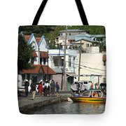 Boats And Telephones Tote Bag