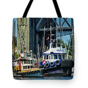 Boats And Tugs Hdrbt3221-13 Tote Bag