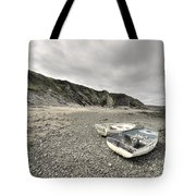 Boats At Bude  Tote Bag