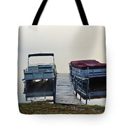 Boats By The Dock Tote Bag