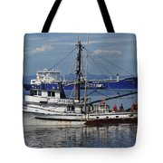 Boats Of The North West Tote Bag