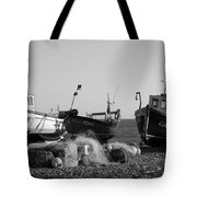 Boats On Beer Beach Tote Bag