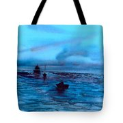 Boats On The Chesapeake Bay Tote Bag