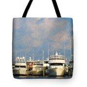 Boats Tote Bag
