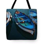 Boats Trio Tote Bag