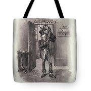 Bob Cratchit And Tiny Tim Tote Bag