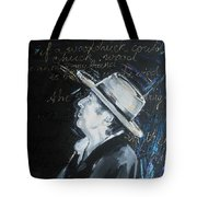 Bob Dylan - Blowing In The Wind Tote Bag