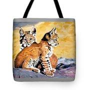 Bob Kittens Tote Bag by Phyllis Kaltenbach