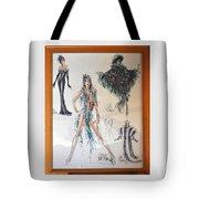 Bob Mackie Design Tote Bag