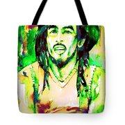Bob Marley Watercolor Portrait.9 Tote Bag