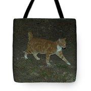Bob-tail Cat Tote Bag