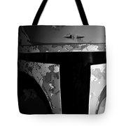 Boba Fett Helmet 29 Tote Bag by Micah May