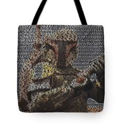 Boba Fett Quotes Mosaic Tote Bag