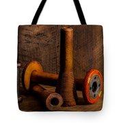 Bobbins And Spools Tote Bag
