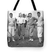 Bobby Jones And Friends Tote Bag