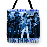 Boc #103 In Blue With Text Tote Bag