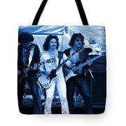 Boc #3 Artistically Enhanced In Blue Tote Bag