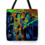 Boc #3 Enhanced In Cosmicolors Crop 2 Tote Bag